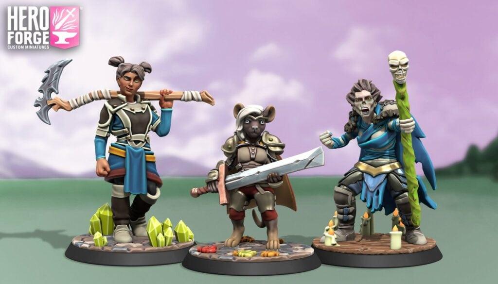 Hero Forge Miniatures